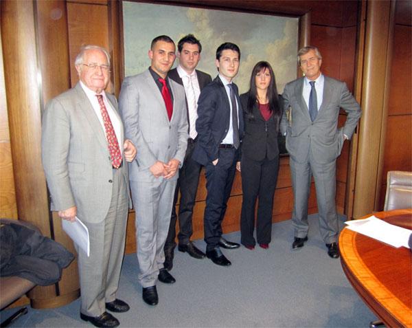 Etudiants de la Licence Banque - Fondation de la 2e Chance