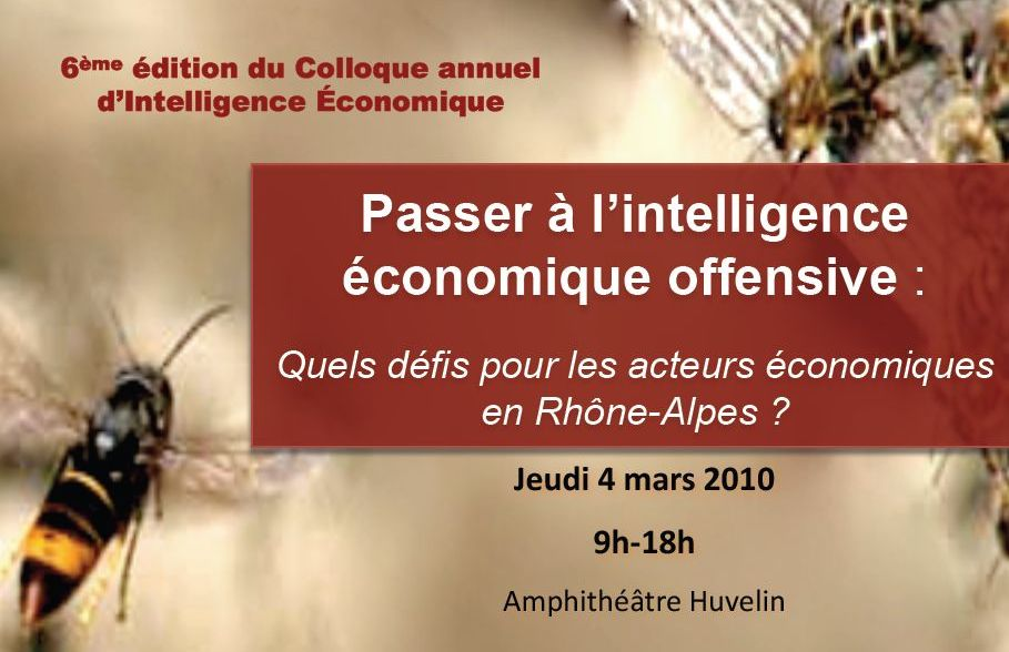 Colloque IE 2010