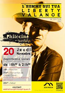 Philociné - L'homme qui tua Liberty Valance - 20 novembre 2014