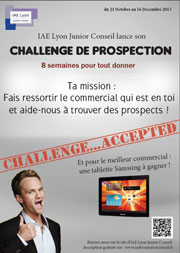 Challenge de prospection junior entreprise