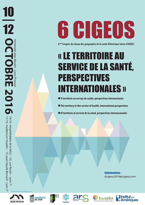 Affiche du colloque CIGEOS 2016