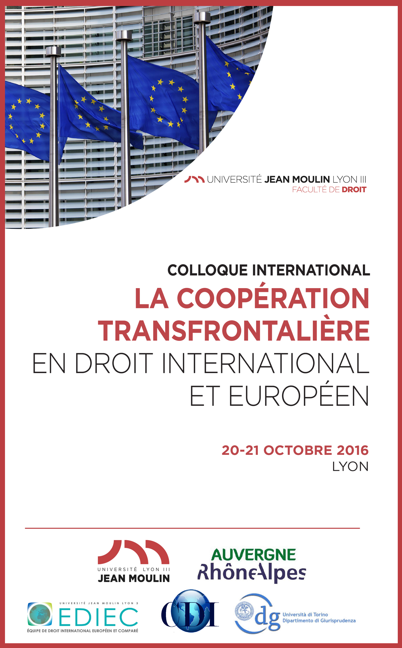 Affiche Colloque international CDI