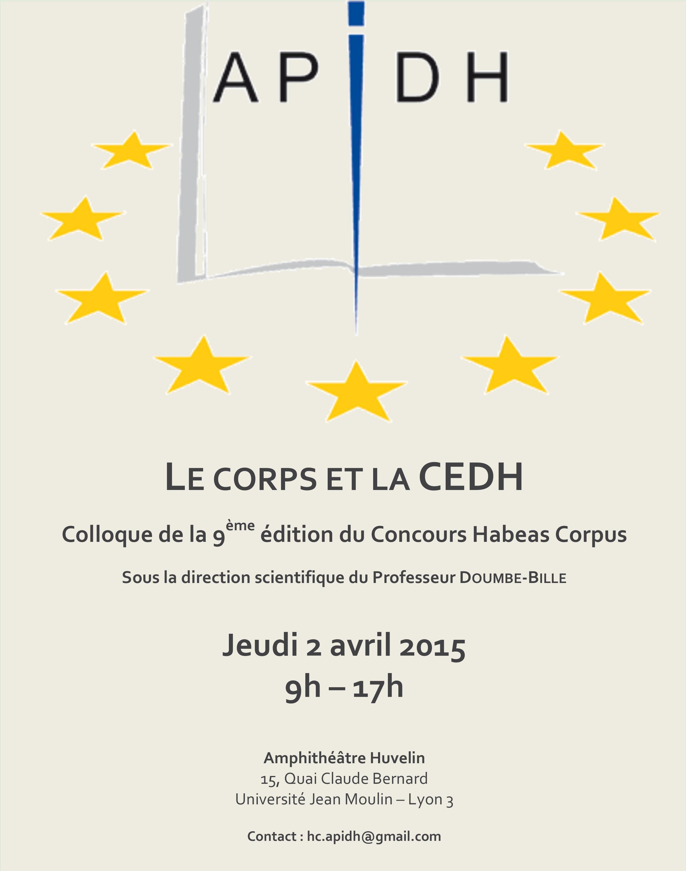 affiche colloque habeas corpus