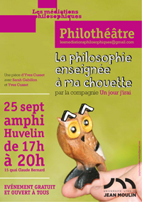 Philothéâtre. La philosophie enseignée à ma chouette