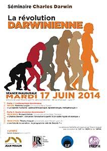 La révolution darwinienne - séminaire mardi 17 juin 2014
