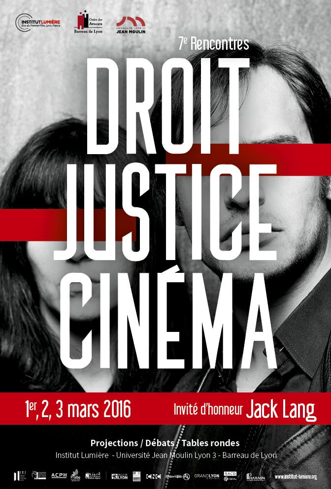Affiche Droit Justice Cinema 2016