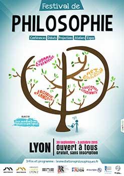 Festival de philosophie - 30 septembre au 3 octobre 2015