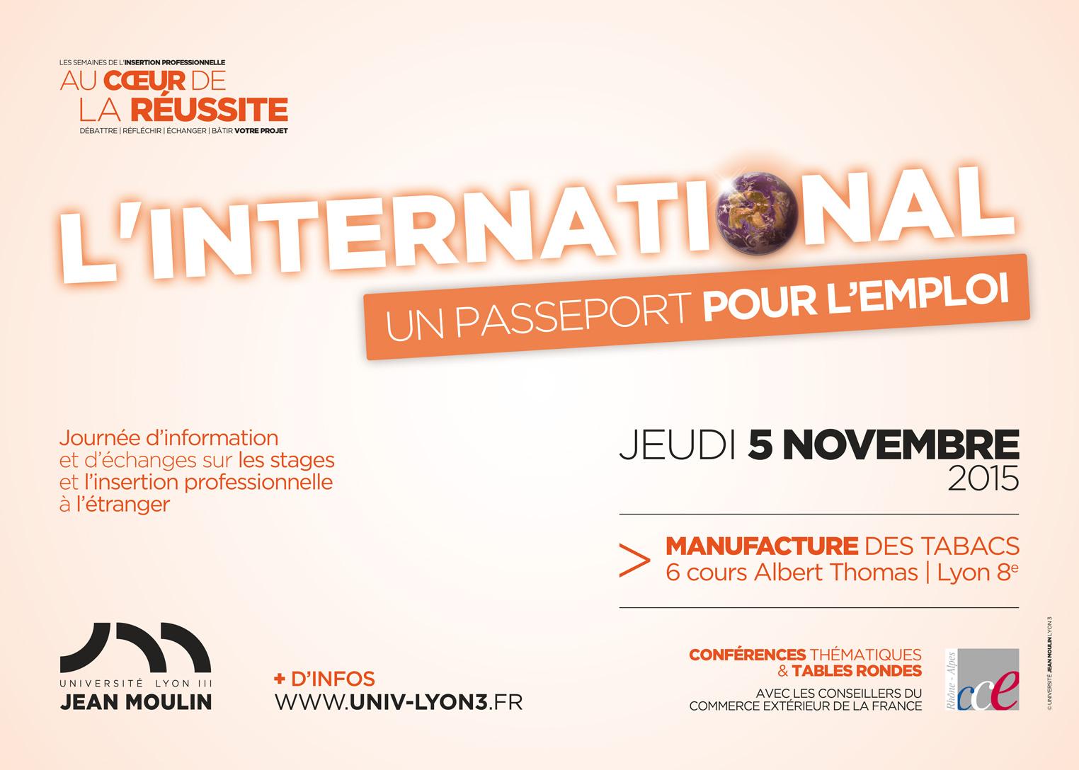Flyer journée internationale