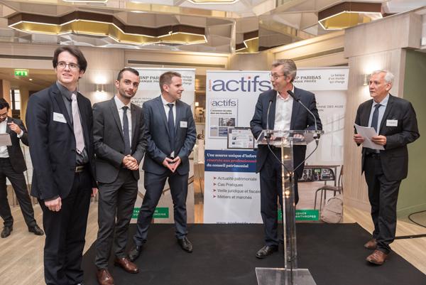 Prix du Patrimoine Jeunes Diplômés AGEFI 2017