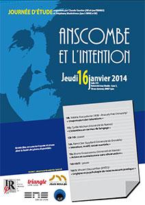 Anscombe et l'intention - jeudi 16 janvier 2014
