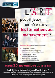 Art et Formation au management