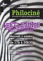 Philociné. Beetlejuice