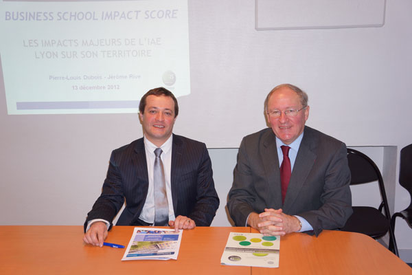 BSIS IAE Lyon - Business School Impact Score