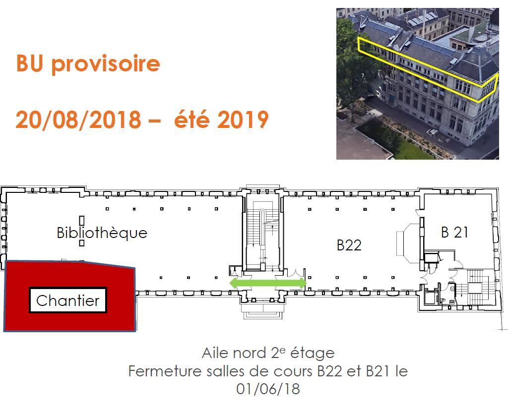 Plan BU provisoire