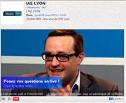 Jérôme Rive, IAE Lyon