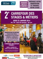 Carrefour Stages Métiers 2014