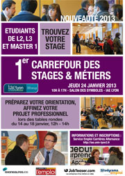 Carrefour Stages & Métiers IAE Lyon