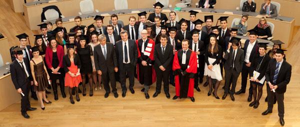 Remise de diplômes du Master CCA - 2013