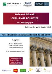 Challenge Boursier 2012