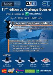 Challenge Boursier 2013