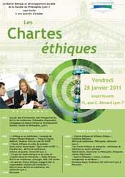 Les Chartes éthiques (28 janvier 2011)