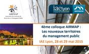 Colloque AIRMAP 2015