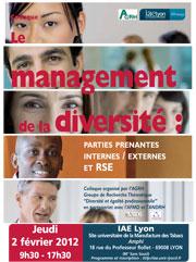 Colloque AGRH Diversité
