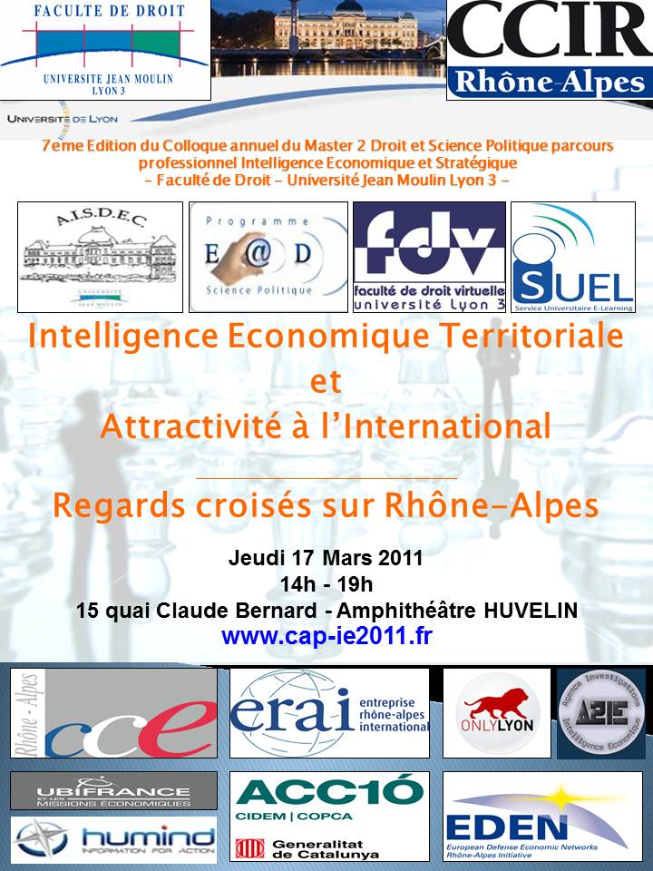 Affiche Colloque IE 2011