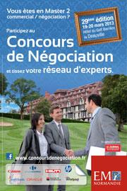 Concours négociation Deauville 2013