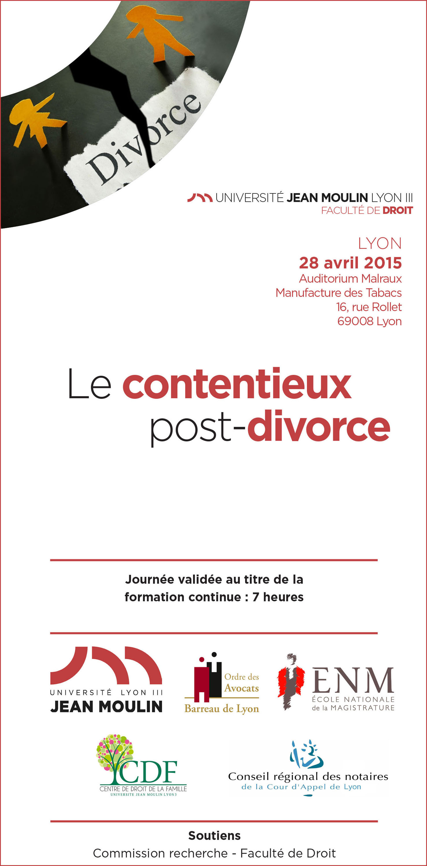 Plaquette Post Divorce - CDF