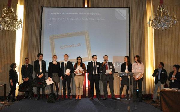 Deauville 2013 - Remise des prix High Tech ORACLE