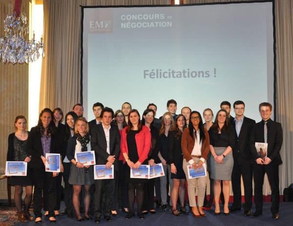 Négociation Deauville 2013 - Lauréats