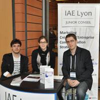 IAE Lyon Junior Conseil sur le Forum Dimo 2013