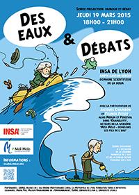 Des eaux & débats - 19 mars 2015