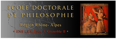 Ecole Doctorale de Philosophie