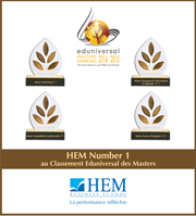 HEM - Classement Eduniversal 2015 MAROC