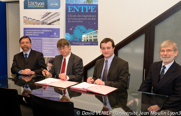 Partenariat ENTPE - IAE Lyon