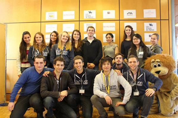 L'équipe That'IAE Lyon organisatrice