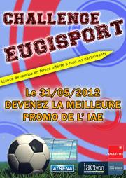 Affiche Challenge sportif IAE Lyon