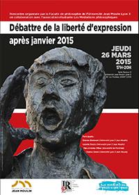 Débattre de la liberté d'expression après janvier 2015 - 26 mars 2015