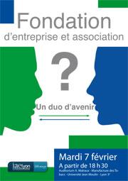 Fondation d'entreprise et association