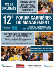 Forum Carrières du Management 2012