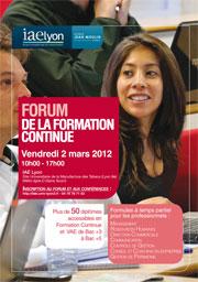 Forum Formation Continue 2012