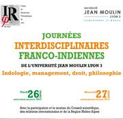 Journées Interdisciplinaires Franco-Indiennes