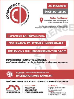 conference 30 mai 2018