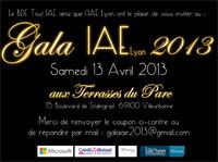 Gala de l'IAE Lyon 2013