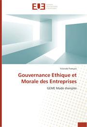 Gouvernance Ethique et Morale des Entreprises