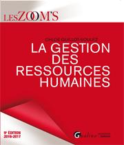 La Gestion des Ressources Humaines 2016-2017