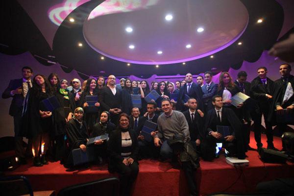 HEM Tanger - Remise de diplômes 2014