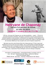 Henryane de Chaponay